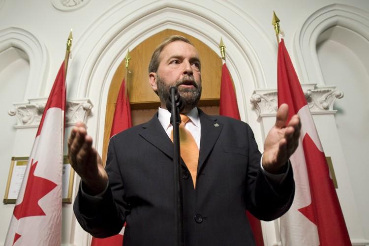 Le député d'Outremont, Thomas Mulcair.... (Photo: PC)