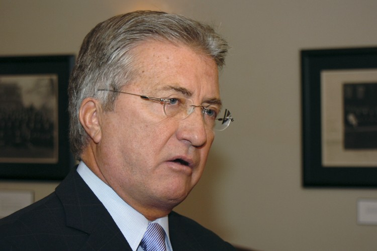 Danny Williams, premier ministre de Terre-Neuve.... (Photo: PC)