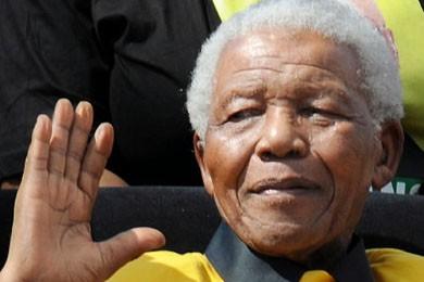 Nelson Mandela... (Photo AFP)