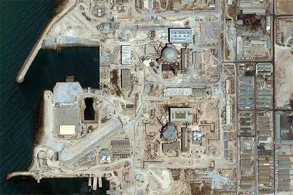 Image prise par un satellite d'une usine nucléaire... (Photo: Archives AP)