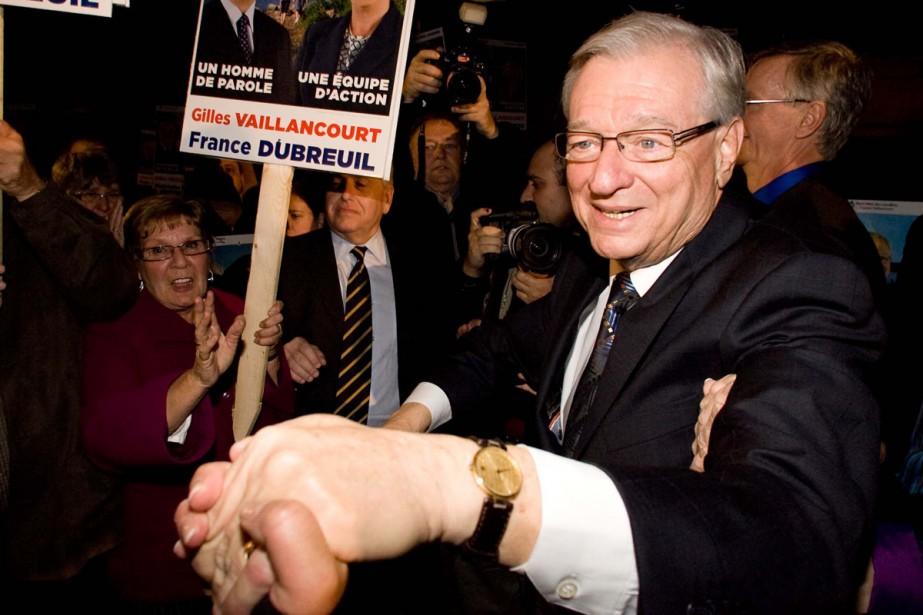 Gilles Vaillancourt obtient un sixième mandat à Laval.... (Photo: André Tremblay, La Presse)