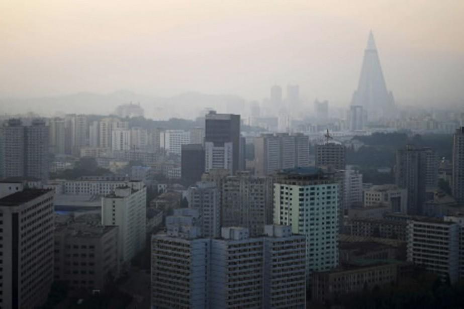 Pyongyang aurait maintenant assez de plutonium pour produire... (Photo AP)