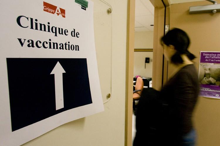 Une femme de 42 ans est morte de la grippe... (Photo: André Tremblay, La Presse)