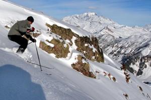 Le Mont Blanc, au loin.... (Photo: Tristan Péloquin, Archives La Presse)