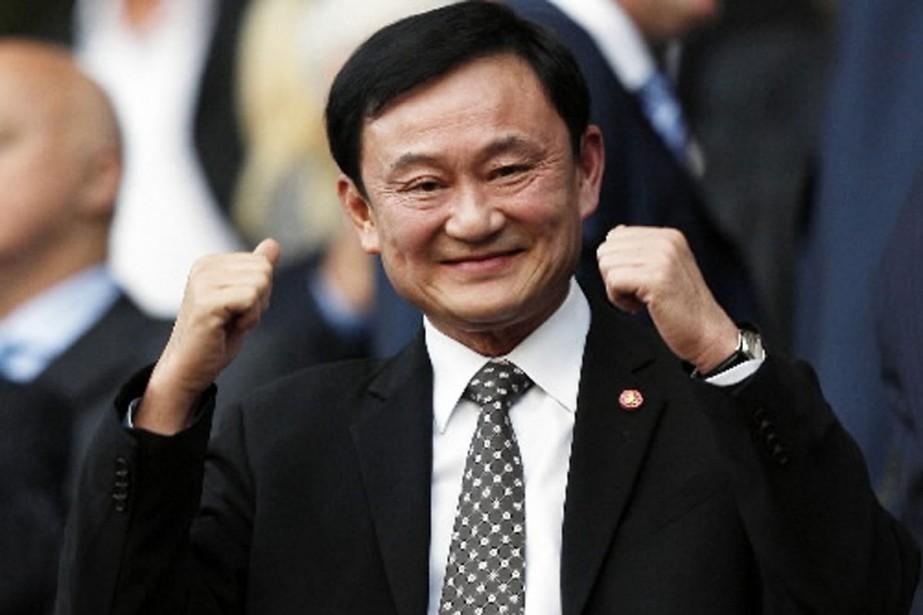L'ex-premier ministre thaïlandais Thaksin Shinawatra.... (Photo AFP)