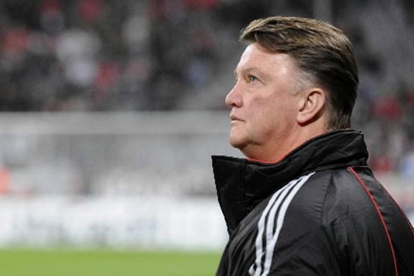 Louis van Gaal... (Photo: AFP)