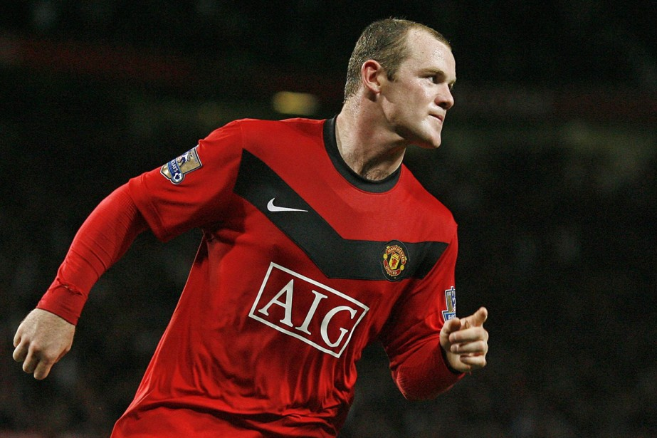 L'attaquant Wayne Rooney, de Manchester United... (Photo: AFP)