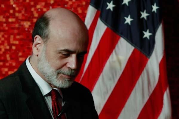 Le président de la Fed Ben Bernanke... (Photo: Mark Wilson, AFP)
