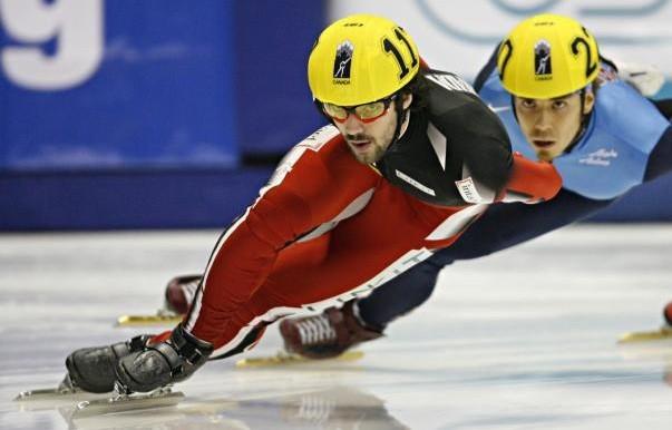 Le patineur courte piste Charles Hamelin... (AFP)