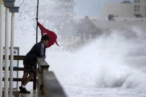 Ida a largement épargné la péninsule du Yucatan... (Photo AP)