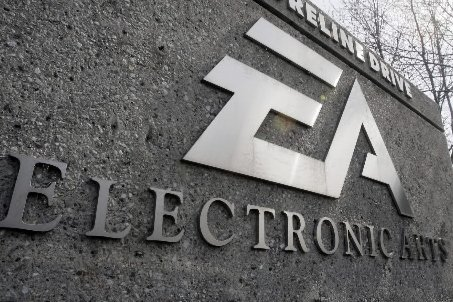 Le logo d'Electronic Arts au siège social en... (Photo: AP)