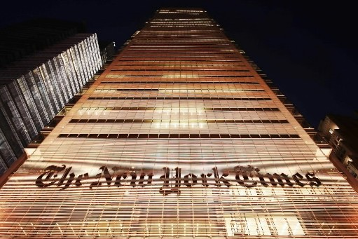 L'édifice du New York Times... (Photo: AP)