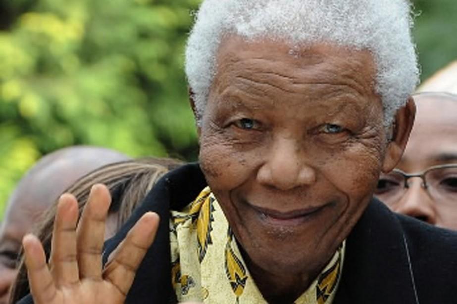 Nelson Mandela.... (Photo AFP)