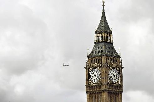 Big Ben, à Londres... (Photo: AFP)