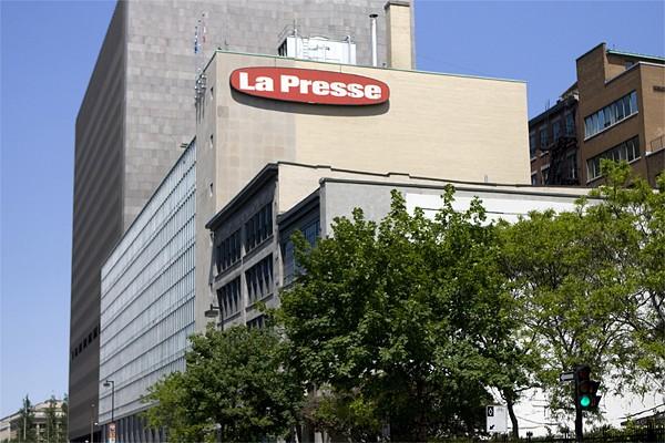Siège social de La Presse à Montréal.... (Photo: David Boily, La Presse)