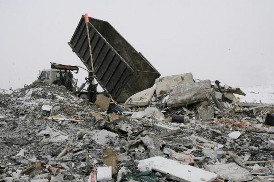 Québec souhaite bannir l'enfouissement de matières organiques d'ici... (Photo: André Tremblay, archives La Presse)