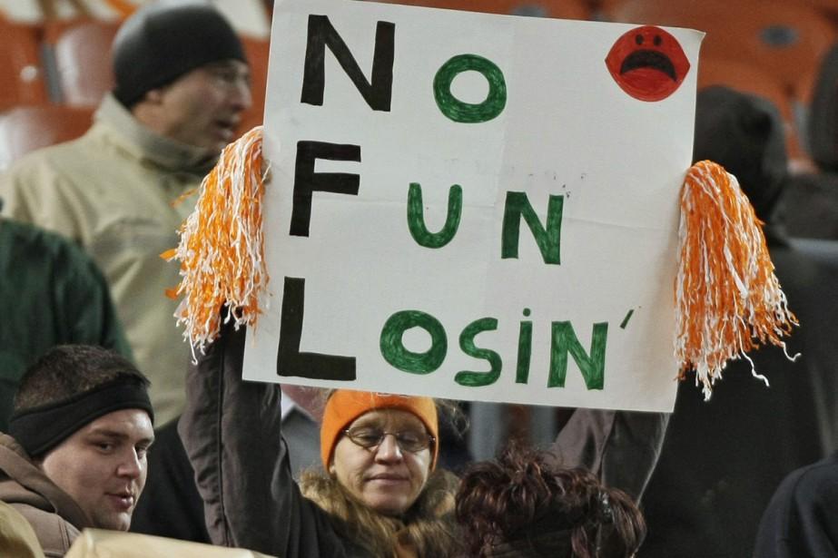 Les misérables Browns ont subi l'humiliation d'un blanchissage... (Photo: AP)