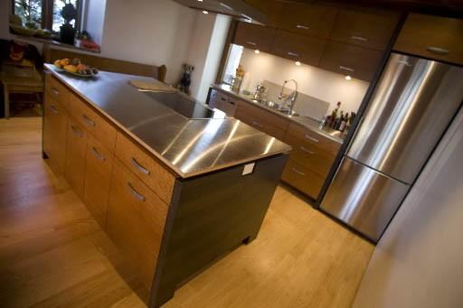 «En nivelant le plancher de la cuisine, on... (Photo: Ivanoh Demers, La Presse)