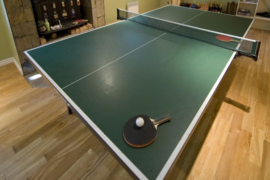 Perdre 10-0 en tennis de table, c'est... (Photo: David Boily, La Presse)