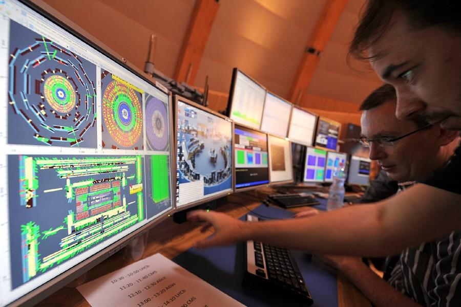 Des scientifiques du CERN sont à l'oeuvre dans... (Photo: Archives AP)
