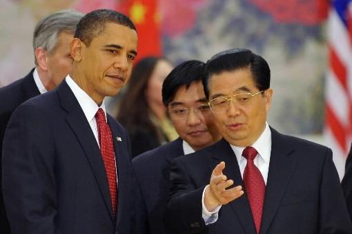 Le président des États-Unis, Barack Obama, et le... (Photo: AFP)