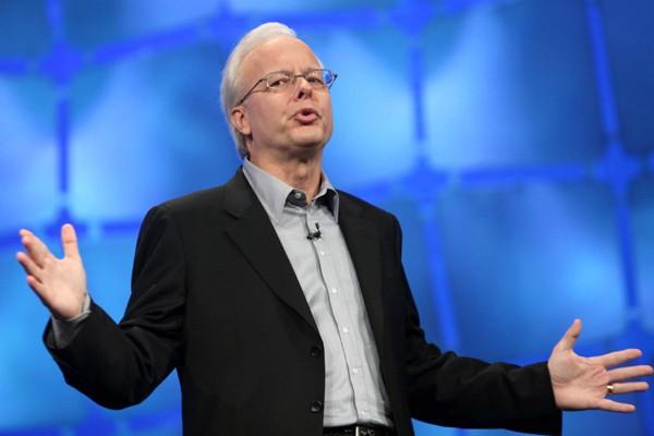 Ray Ozzie, patron des logiciels Microsoft, en 2009... (Photo AP)