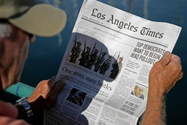 La popularité croissante de l'information sur internet contribue... (Photo: Tim Rue, Bloomberg News)
