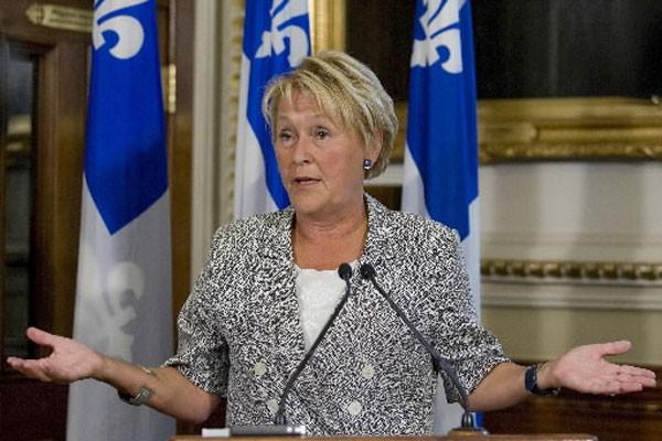 La chef du Parti québécois, Pauline Marois.... (Photo PC)