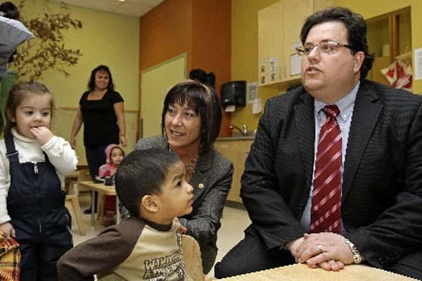 Le ministre de la Famille, Tony Tomassi.... (Photo: Robert Mailloux, La Presse)