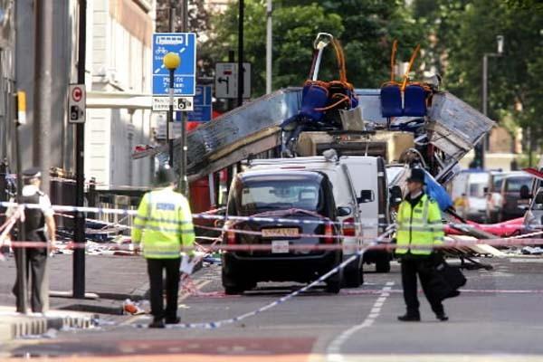Londres a récemment relevé son niveau d'alerte en... (Photo: AFP)