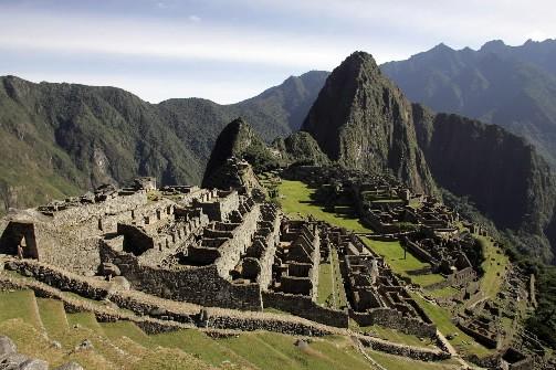 Le Machu Picchu est le site le plus... (Photo: AFP)
