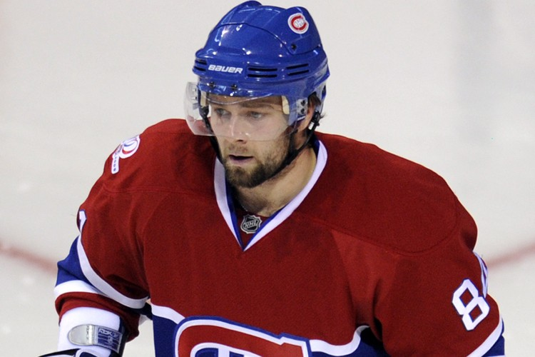 Guillaume Latendresse semblait plafonner offensivement avec le Canadien... (Photo: Bernard Brault, La Presse)