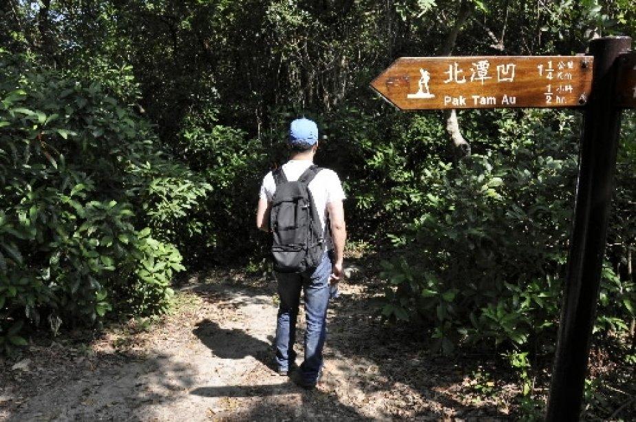 Le parc de Sai Kung est sillonné de sentiers balisés. | 1 mars 2011