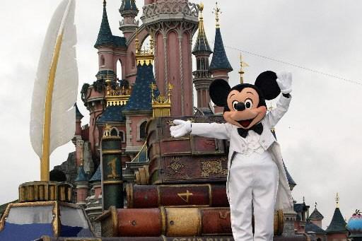La célèbre souris de Disney, Mickey... (Photo: AFP)