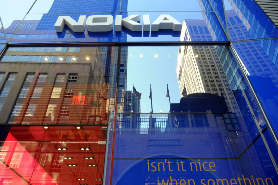 Un magasin Nokia à New York... (Photo: AP)
