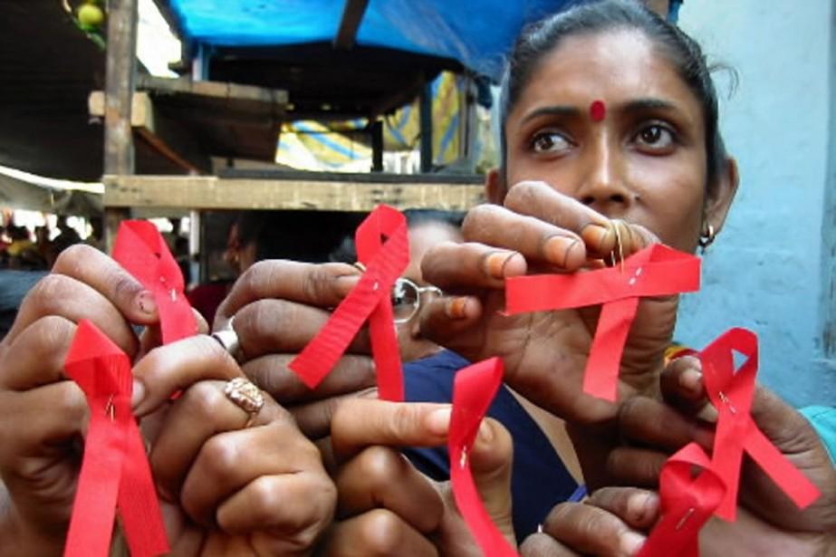 Les campagnes de sensibilisation, comme celle-ci, en Inde,... (Photo: archives AP)