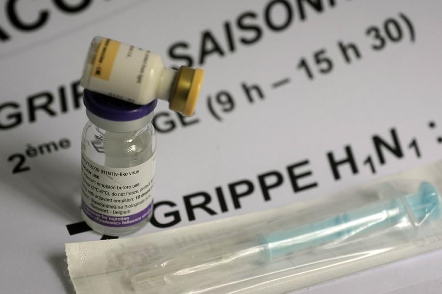 La pandémie H1N1 de 2009, qui a touché environ 60 millions de... (Photo: AFP)