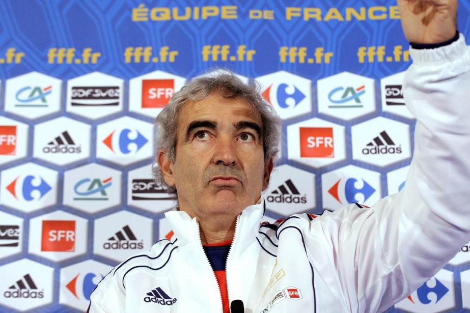 Raymond Domenech... (Photo: AFP)