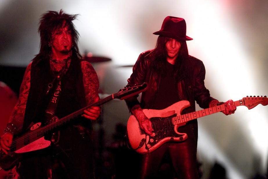 Mötley Crüe en spectacle à Montréal en juin... (Photo: Robert Skinner, archives La Presse)