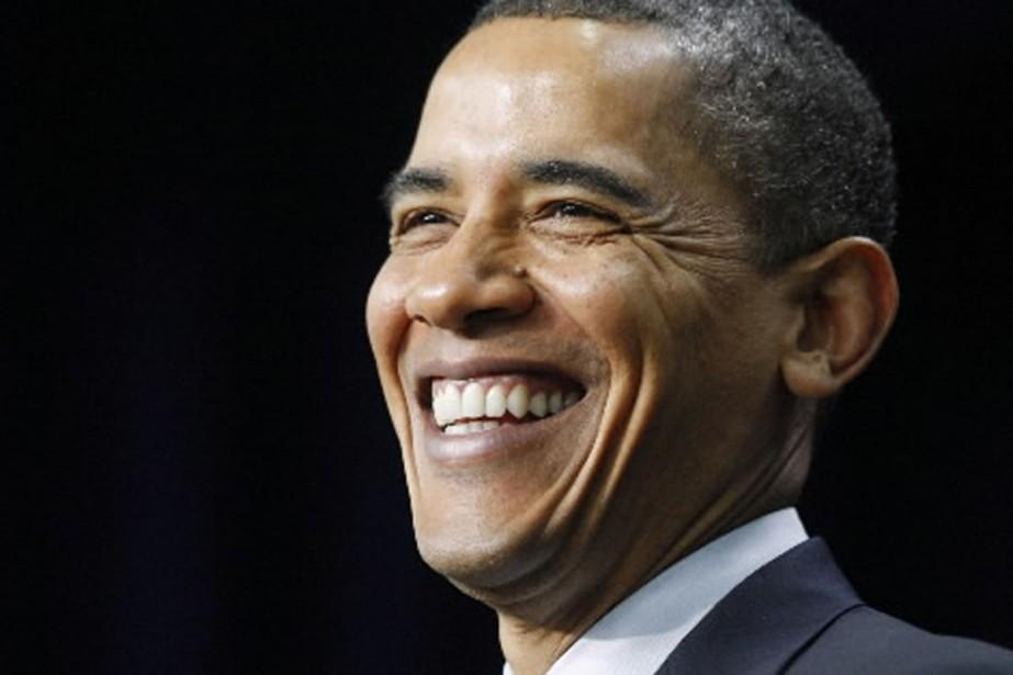Le premier président Noir des États-Unis.... (Photo: Reuters)