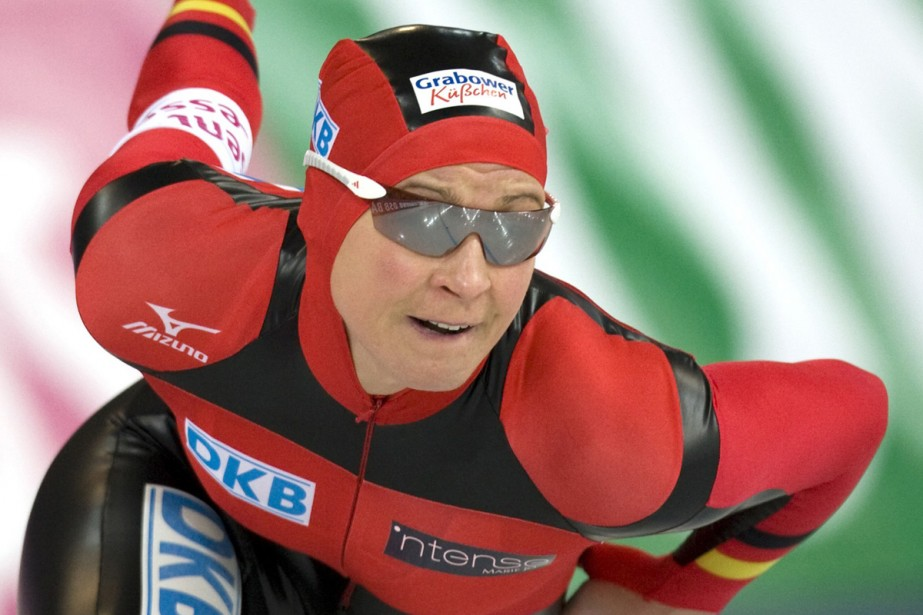 Claudia Pechstein... (Photo: AP)