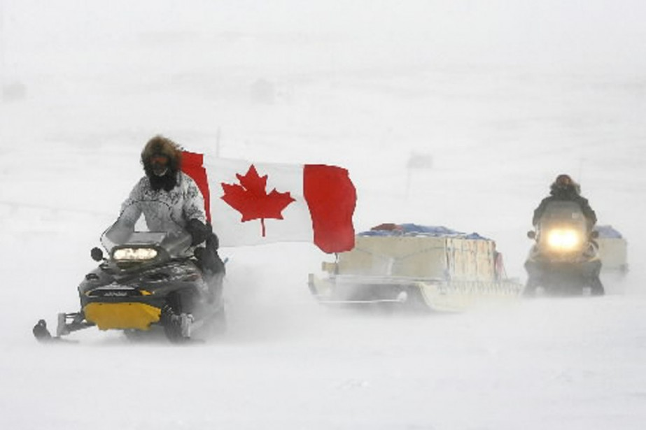 Le Grand Nord du Canada recèle d'énormes quantités... (Photo: archives PC)