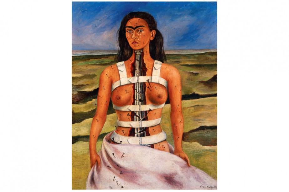 La columna rota, Frida Kahlo, 1944...