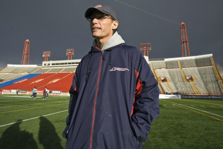 L'entraîneur des Alouettes, Marc Trestman... (Photo: PC)