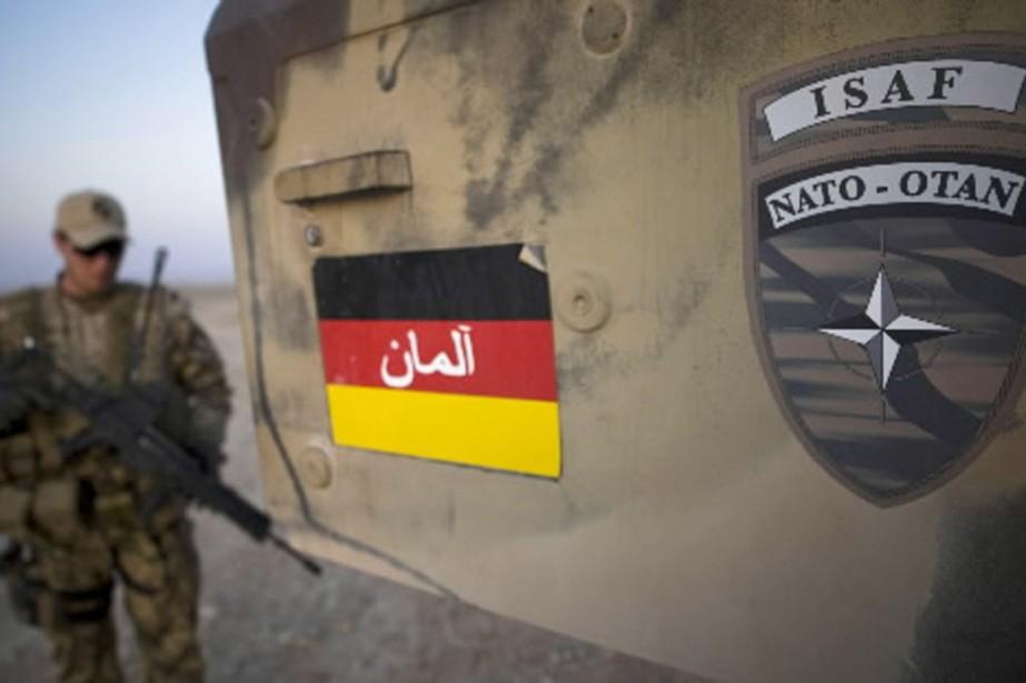 Le 4 septembre, l'OTAN a bombardé, à la... (Photo: AFP)