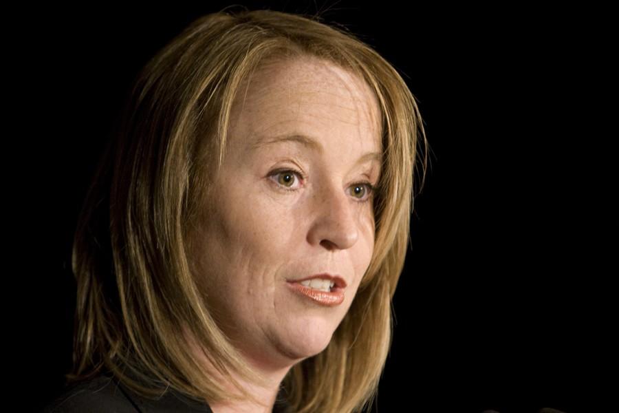 La nouvelle mairesse de Longueuil, Caroline St-Hilaire.... (Photo: David Boily, La Presse)