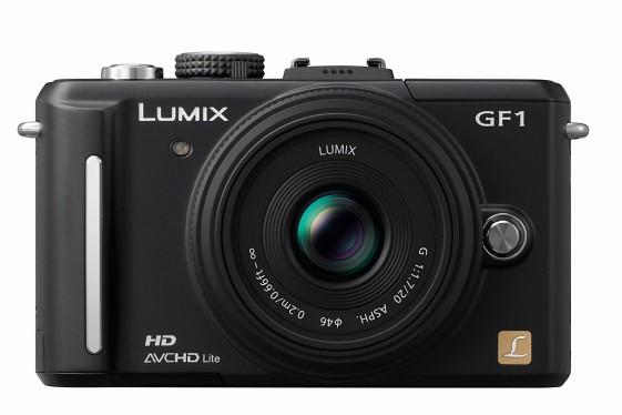 Le Panasonic Lumix DMC-GF1...