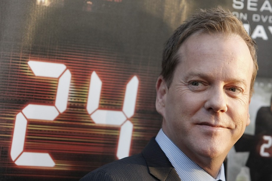 Kiefer Sutherland incarne Jack Bauer dans 24.... (Photo: AP)