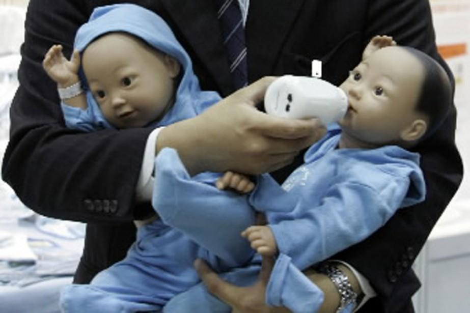 Dans un pays en mal de naissances, des... (Photo: archives Reuters)