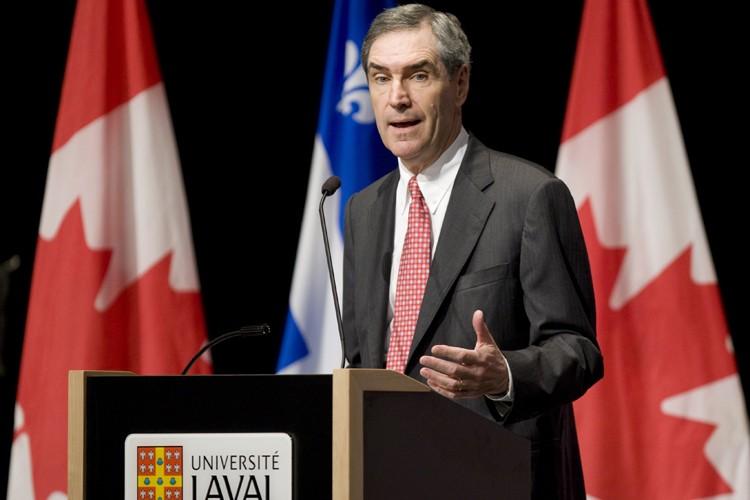 Dans un discours prononcé à l'Université Laval, à... (Photo: PC)